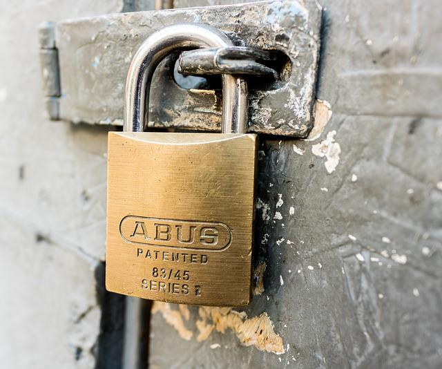 Lock, Padlock, Door Lock
