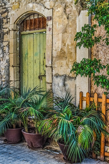 Old House, Door, Architecture, Exterior, Street, Decay