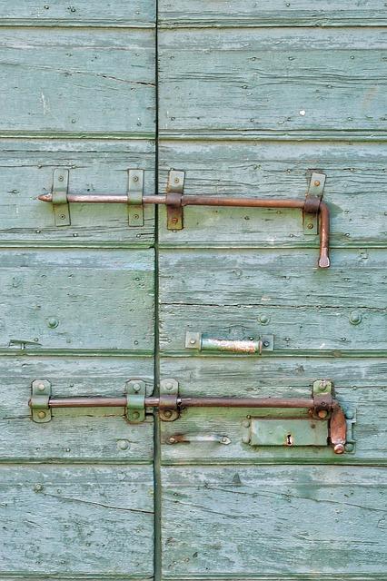 Door, Wood, Texture, Old, Node, Handle, Paint, Axis