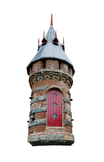 Building, Isolated, Pigeon House, Tower, Door, Ledge