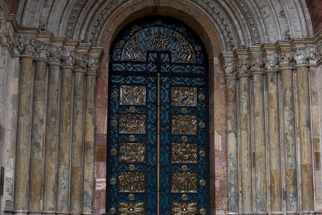 Puerta Catedral, Architecture, Old, Building, Door