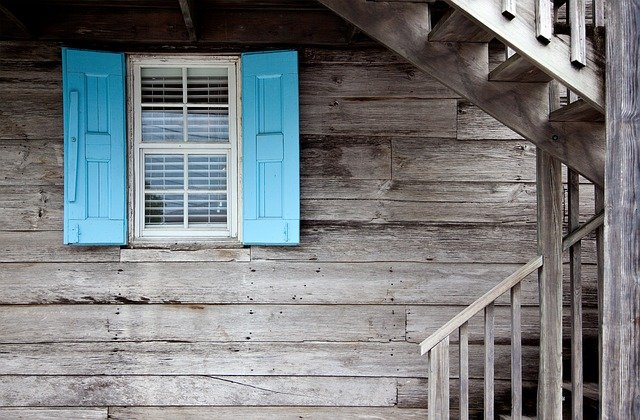 Shutters, Caribbean, Architecture, Door, House, Window