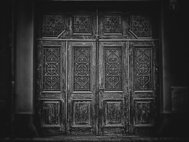 Wallpaper, Background, Gate, Door, The Secrets Of