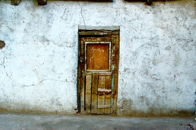 Door, Old, Rustic, Wall, Wooden