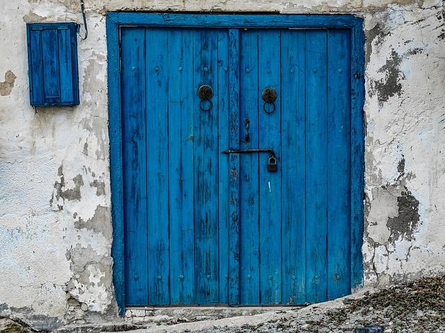Door, Wooden, Entrance, House, Doorway, Architecture
