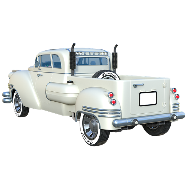 Pickup, Truck, Doors, Exhaust, Transport, Car, Retro