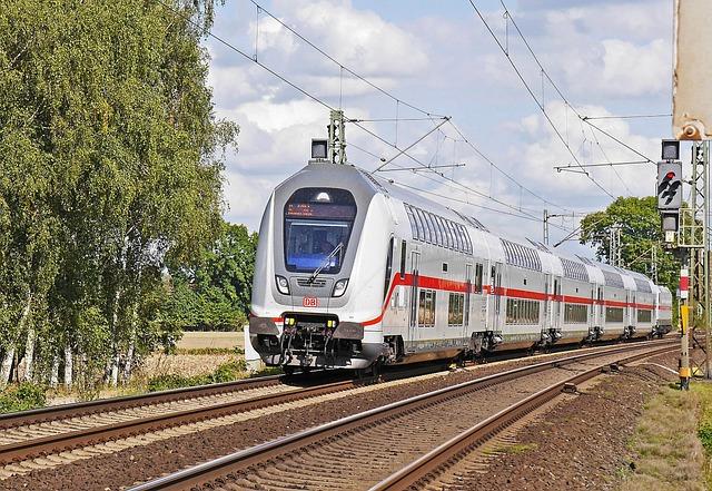 Fernzug, Intercity, Double Decker, Deutsche Bahn, Db