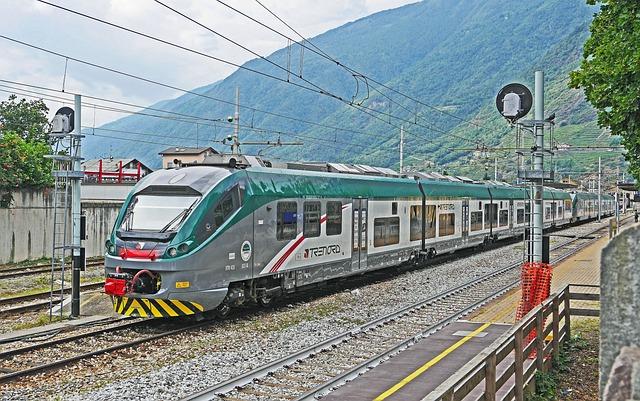 Trenitalia, Tirano, Regional Train, Double Unit, Modern