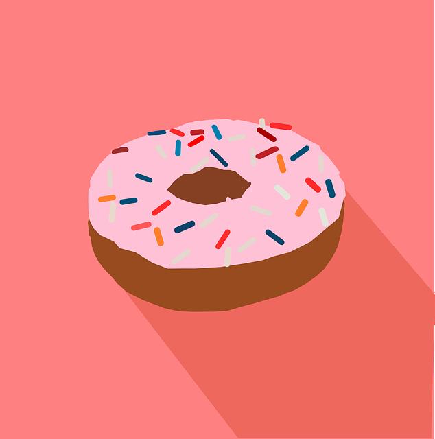 Donut, Doughnut, Fast Food, Food, Icon, Junk, Snack