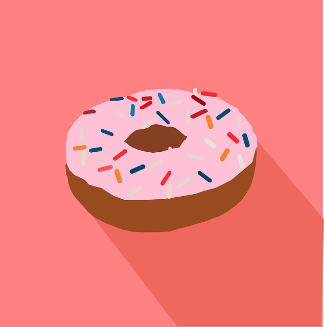 Donut, Doughnut, Fast Food, Food, Icon, Junk, Snack