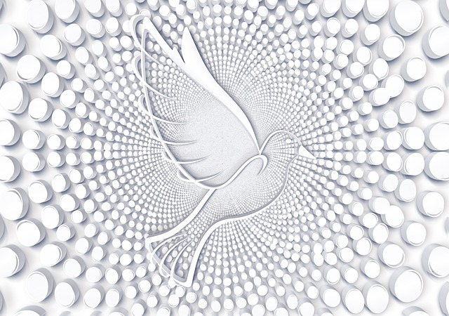 Points, Circle, Dove, Harmony, Pattern, Structure