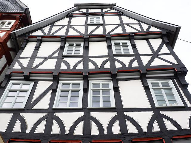 Fachwerkhaus, Fritzlar, Downtown, Historic Old Town