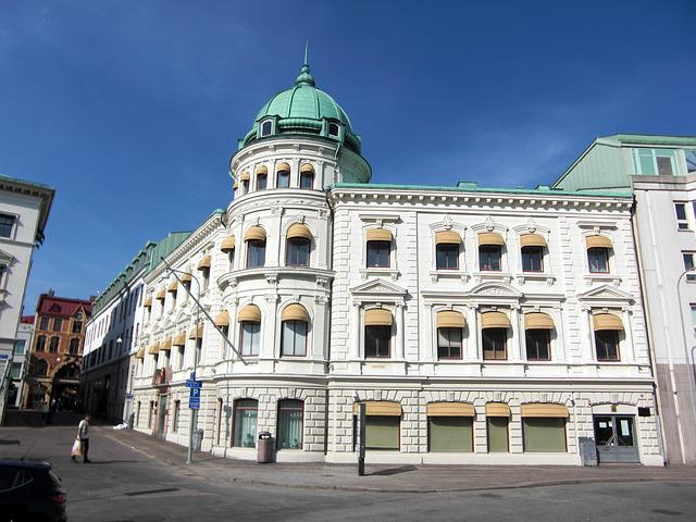 Chinese Embassy, Sweden, Gothenburg, Downtown
