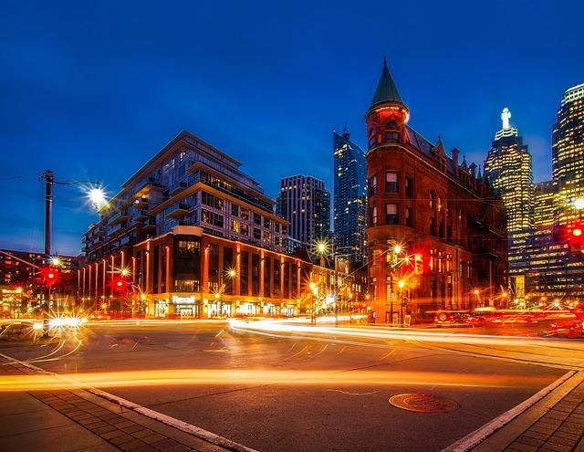 Toronto, Canada, City, Urban, Downtown, Cityscape, Sky