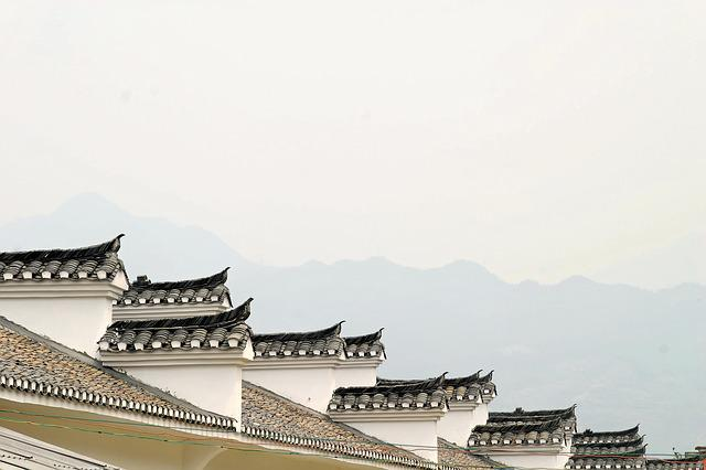 Roof, China, Dragon, Forbidden City, Architecture