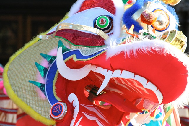 Dragon, Chinese, New Year