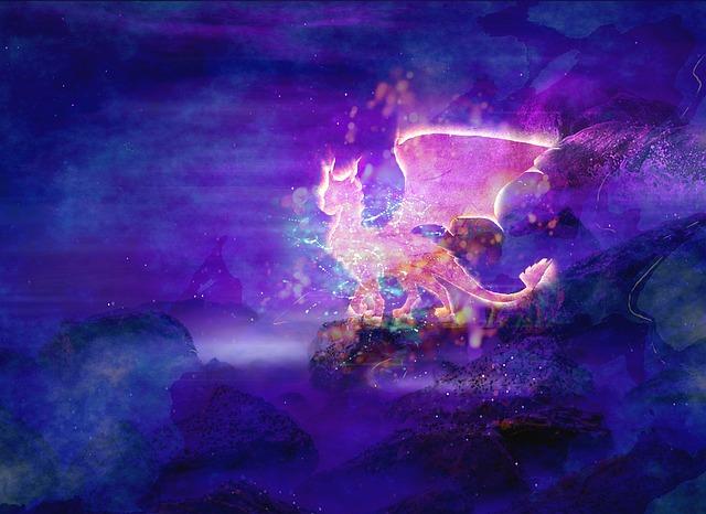 Fantasy, Dragon, Creature, Fairy, Animal, Monster, Glow
