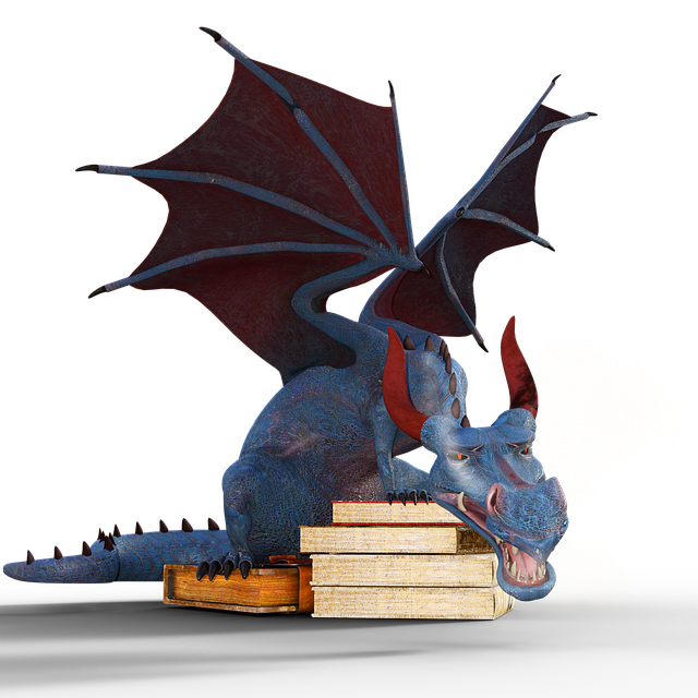 Dragon, Books, Magic, Mystical, Mythical Creatures