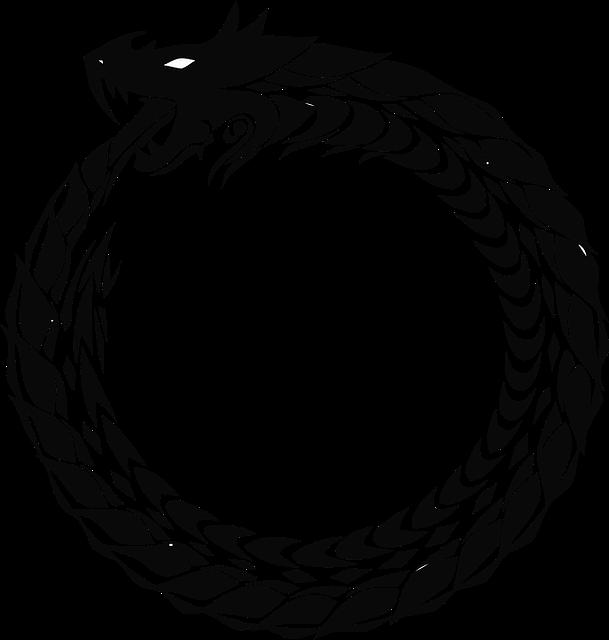 Circle Icons, Dragon, Ring, Snake