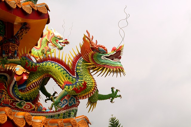 Dragon, Taiwan, Chinese Temple, Temple, Hualien