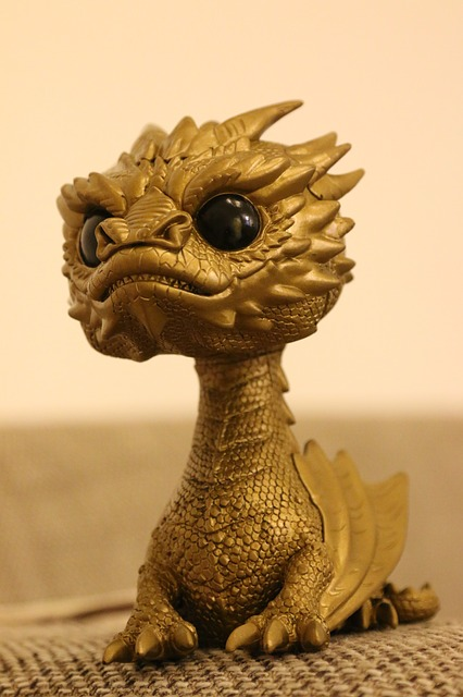 Smaug, Dragon, The Hobbit, Funko, Pop, Gold