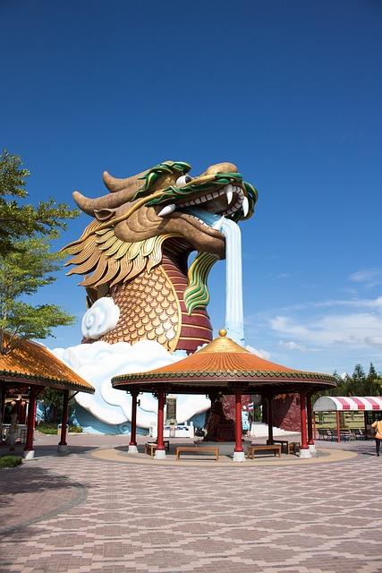 The Chinese Dragon, Dragon's Heaven Village