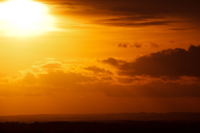 Beautiful, Clouds, Color, Dramatic, Dusk, Evening