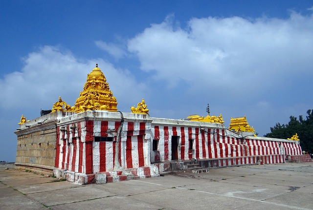 Temple, Architecture, Dravidian, Gopalswamy Betta