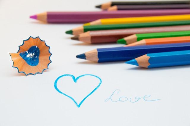 Colored Pencils, Draw, Color, Pens, Paint