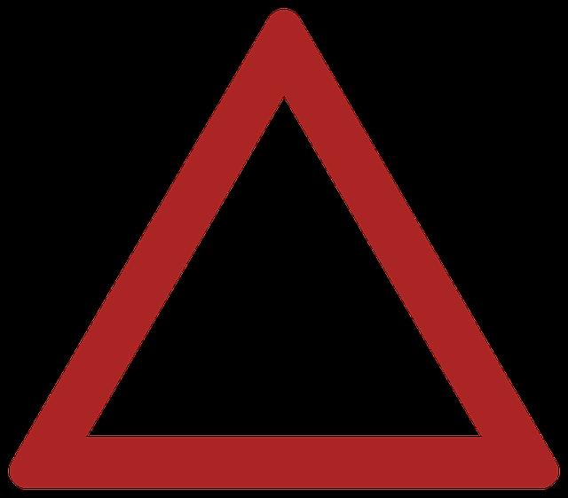 Drawbridge, Danger, Warning, Road Sign, Traffic