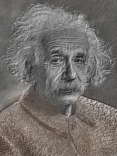 Drawing, Pencil, Albert Einstein, 1921, Portrait