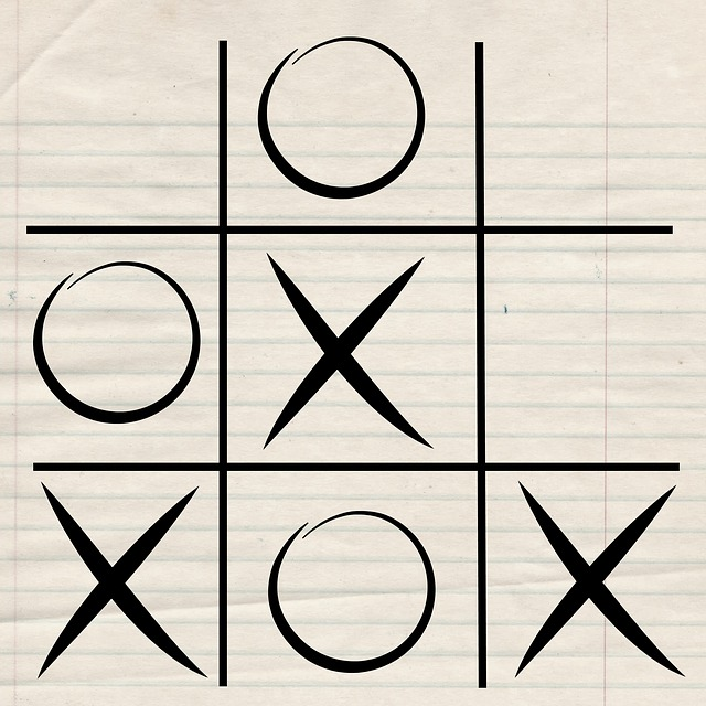 Game, Tic, Tac, Toe, Play, Drawing, Entertainment, Xo