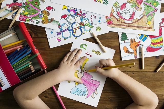Kids, Painting, School, Drawing, Draw, Art Class, Child