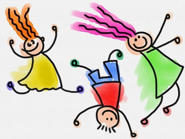 Kids, Children, Doodle, Sketch, Drawing, Watercolor
