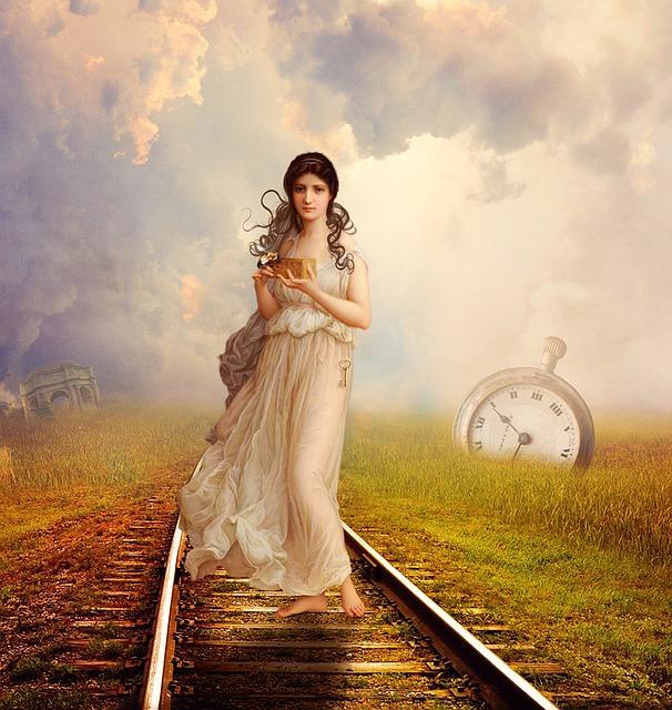 Fantasy, Clouds, Female, Pandora, Fantasy Woman, Dream