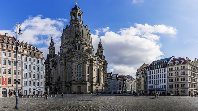 Frauenkirche, Space, Dresden, Architecture