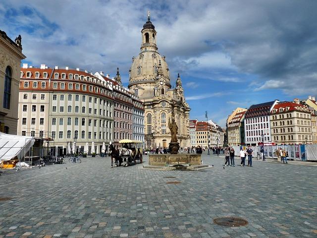 Neumarkt, Dresden, Historically, City, History
