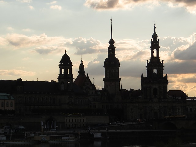 Dresden, Cathedral, Marketplace, Old Town, Building