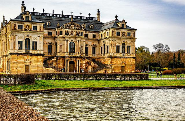 Dresden, Large Garden, Palais