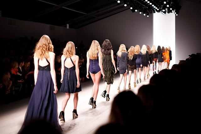 Audience, Crowd, Dresses, Fashion, Fashion Show, Models