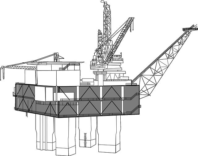 Oil Rig, Oil, Rig, Platform, Industry, Drilling