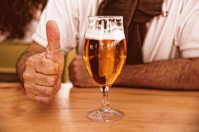 Glass Of Beer, Beer, Glass, Alcohol, Drink, Beverage