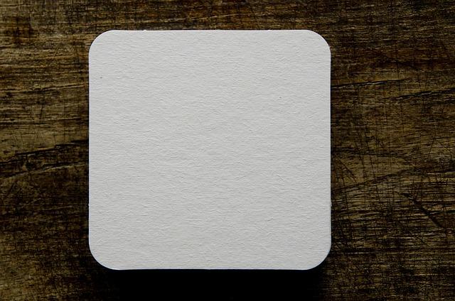 Beer Coasters, Blank, Drink, Table, Paper, Pulpboard