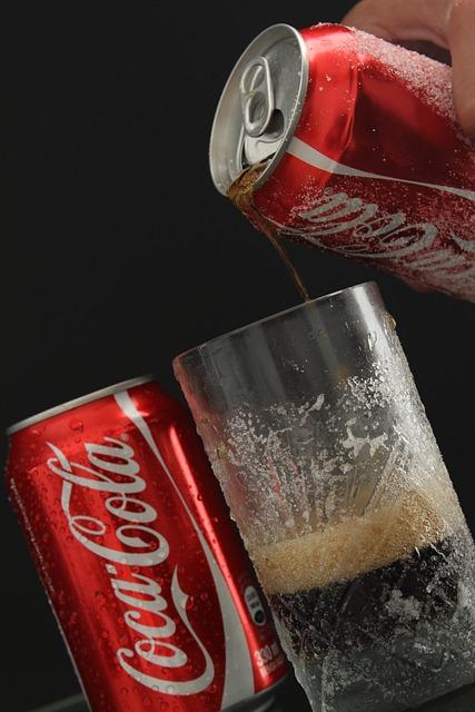 Drink, Coca Cola, Can