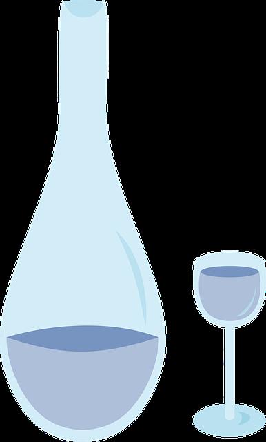 Bottle, Water, Carafe, Glass Walk, Glass, Drink