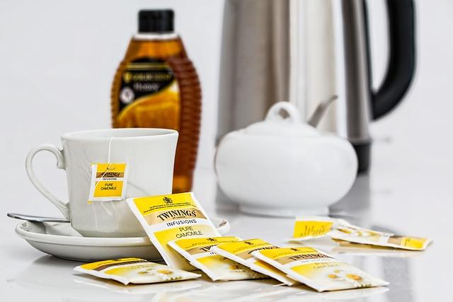 Herbal Tea, Teabags, Beverage, Camomile, Drink
