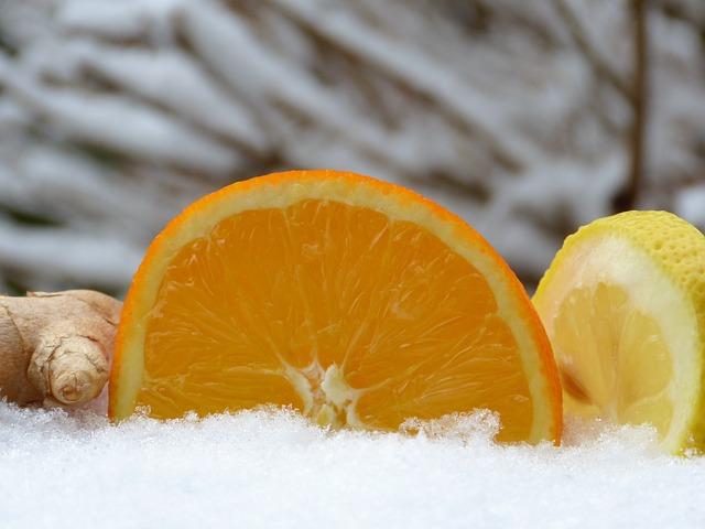 Orange, Ginger, Lemon, Tee, Hot Lemon, Hot, Drink