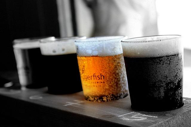 Beers, Glasses Of Beer, Drink, Alcohol, Lager, Beverage