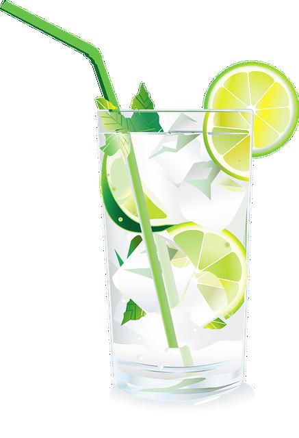 Caipi, Cocktail, Glass, Drink, Lime, Lemons, Caipirinha