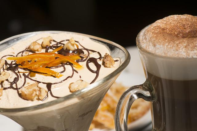 Capuccino, Food, Drink, Coffee, Dessert, Sweet